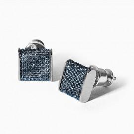 Skagen jewels orecchini merete blue glitz