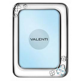 Valenti cornice bimbo coccinella