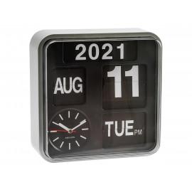 Karlsson mini flip orologio da ufficio silver