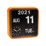 Karlsson mini flip orologio da ufficio orange