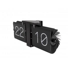 Karlsson flip clock no case nero