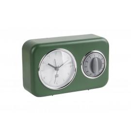 Karlsson nostalgia sveglia e timer verde
