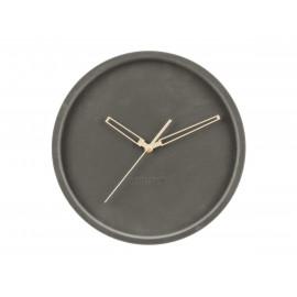Karlsson lush orologio da parete in velluto grigio