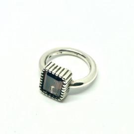 Nelson anello sevilla zircone brown