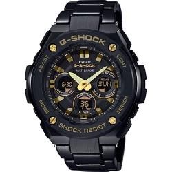 Casio g-shock g-steel gst-w300bd-1aer total black