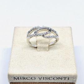 Mirco visconti anello fantasia con brillanti