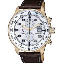 Citizen of collection aviator chrono gold ca0693-12a