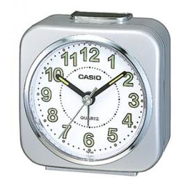 Casio sveglia beep alarm snooze quadrata silver