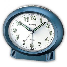 Casio sveglia beep alarm ovale blu