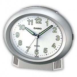 Casio sveglia beep alarm ovale grigia