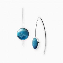 Skagen jewels orecchini agnethe blue sea mdp st