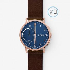 Skagen hybrid smartwatch hagen rg blu pelle