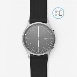 Skagen hybrid smartwatch jorn black pelle