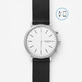 Skagen hybrid smartwatch hald white pelle