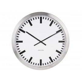 Karlsson station orologio da muro in acciaio 50 cm