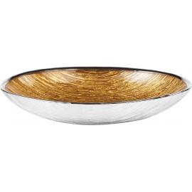 Argenesi ciotola granito 27 x 18 cm oro