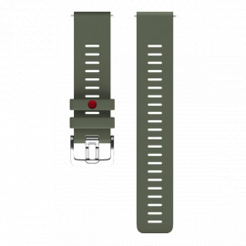 Polar cinturino 22 mm m-l green army