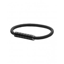 Skagen jewels bracciale vinther black rope