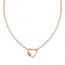 Nomination collana charming cuore rg