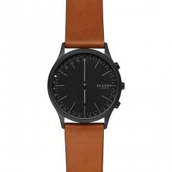 Skagen hybrid smartwatch jorn black leather