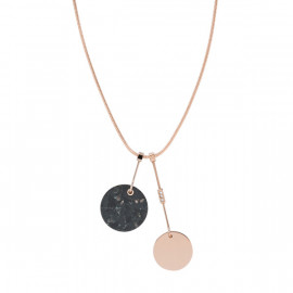 Skagen jewels collana ellen marble black rg