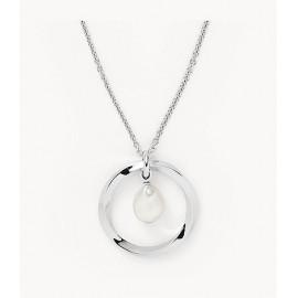 Skagen jewels collana agnethe pendant pearl st