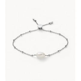 Skagen jewels bracciale agnethe pearl chain st