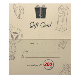 Eg gift card 200 euro