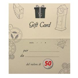 Eg gift card 50 euro