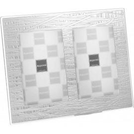 Argenesi cornice doppia stripes 9x13 cm