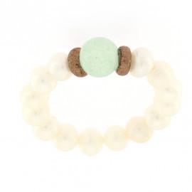 Kikilia anello saint tropez verde
