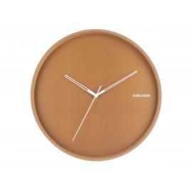 Karlsson hue orologio da parete brown