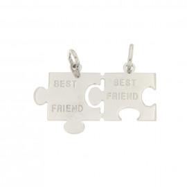Donnini ciondolo best friend a puzzle