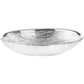 Argenesi ciotola granito 18 x 12 argento