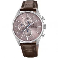 Festina timeless chronograph brown