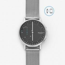 Skagen hybrid smartwatch signatur mesh